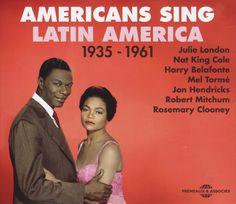 Various: Americans Sing Latin America 1935 to 1961 (3CD set)
