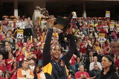 Tamika Catchings #24 of the Indiana Fever: 2011 @WNBA MVP