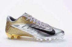 Nike Chrome Vapor Talon Cleats.
