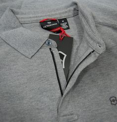 The Victorinox L/S Movement Polo is a tailored fit long sleeve polo shirt from the new autumn/winter collection. The polo is a versatile item featuring a flat knit collar, a hidden zip closure to the front and the Victorinox logo embroidered to the left chest. Finished in a light graphite heather wash this lightweight polo is perfect for those autumn nights when they become a little cooler! http://www.itsinyourjeans.co.uk/ls-movement-polo-graphite-heather.html