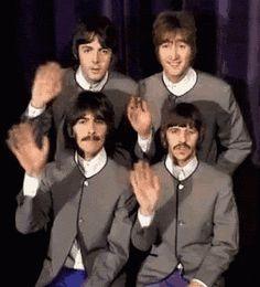 Los Beatles Se Despiden GIF - Tenor GIF Keyboard - Bring Personality To Your Conversations | Say more with Tenor