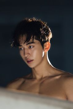 Nam Joo Hyuk - this is why I come on here on my breaks....   I could devour those contours...