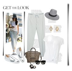 """*Get the look-celebrity* contetst- Set #2"" by sassy-elisa ❤ liked on Polyvore featuring Hoss Intropia, Nine West, Boohoo, CÉLINE, Yves Saint Laurent, Stella & Dot and GetTheLook"