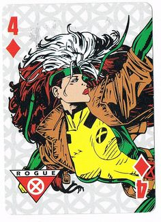 Four of Diamonds - Rogue by stormantic, via Flickr