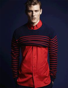 Mikkel Jensen for Vogue Homme Japan, styling by Nicola Formichetti.