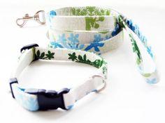 Dog Collar 小型犬 ハワイアンキルト4 ハンドメイド 首輪リード インテリア 雑貨 Handmade ¥1200yen 〆05月20日