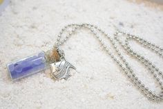 Message in the bottle Go Green Sea Glass Jewelry by StYingStudio, $9.95