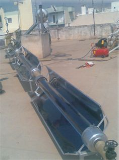 Oil 300°c and Stirling Machines - Ηλιακοί συλλέκτες - σωλήνες κενού ηλιακής ενέργειας,παραβολικά κάτοπτρα - Αφαλάτωση  Enertechnic