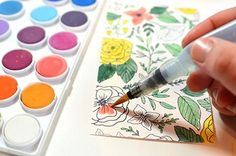 Watercolor Flowers & Craft Market (via Bloglovin.com )
