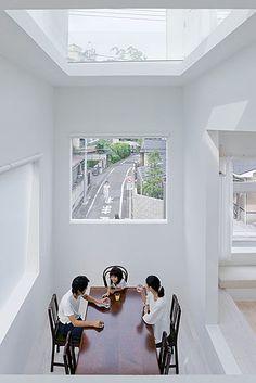House H - Tokyo - Japan  by Sou Fujimoto Architects. Photography Iwan Baan