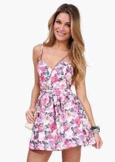 Floral Me Up Dress