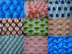 THE QUALITIES OF A COMPACT & COMPLEX CROCHET STITCH /  CUALIDADES DEL  C...