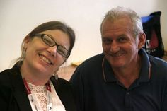 Silvia and Accursio Caracappa (FICE, Italy) #acam2013 #cicae #welcome