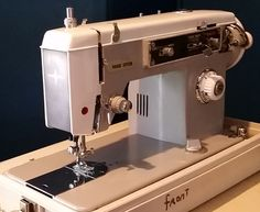 Mid Century Vogue Stitch Sewing Machine