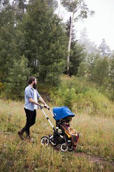 A 4-wheel all terrain stroller! #discoverthebuffalo