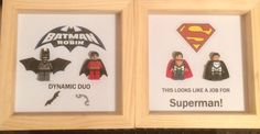 Superheroes - An ideal gift for a little boys bedroom.