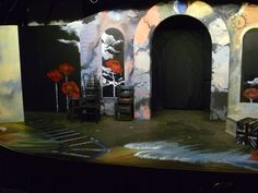 I nail poppies into back wall and finish off the floor. But rehearsal is spectacular! Jim and Spencer and Jessica make me cry. Design Consultant, Cry, Poppies, Theatre, This Is Us, Floor, Nail, Artist, Painting