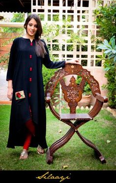 Latest Winter Dresses Collection 2013 For Girls Silaayi Fashion Dresses for Women Fashion by Pakistan Fashion Magazine Casual Summer Dresses, Winter Dresses, Casual Wear, Formal Dresses, Pakistani Outfits, Indian Outfits, Pakistan Fashion, Indian Attire, Indian Wear