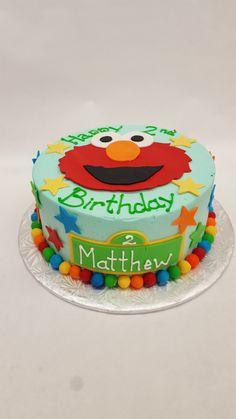 Elmo makes every birthday happy :)