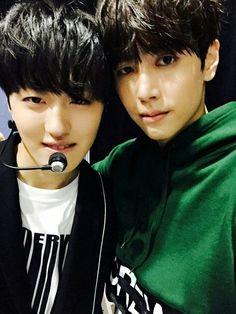 ⤴× kthpgs × I kpop I SF9 - CHANI & JAEYOON