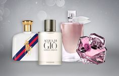 Perfumes Importados -  Polo Blue Sport, Acqua Di Gio, La Vie Est Belle, La Nuit Trésor - Blog Opte+