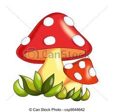 cogumelo desenho colorido - Pesquisa Google