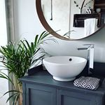 Spa bathroom | Neutral bathroom | Rees & Hunt | Irish Interiors | Interiors Blog Neutral Bathroom, Bathroom Spa, Irish, Interiors, Mirror, Think, Blog, Instagram, Home Decor