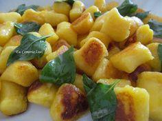 Eu Comeria Isso!: Nhoque de Mandioquinha na Manteiga com Manjericão