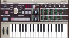 Korg microKORG Synthesizer with Vocoder Analog Synth, Electric Piano, Dj, Instruments, Audio, Keyboard, Guitar Stickers, Crow's Nest, Electronic Music