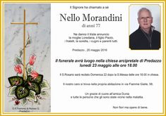 Necrologio, Nello Morandini (capòcia)