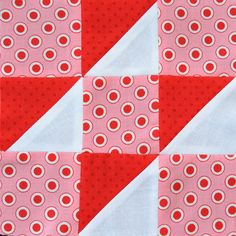 Farmer's Wife Quilt-a-Long Block #21 - Contrary Wife by Ellie@CraftSewCreate, via Flickr