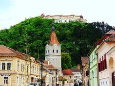 The #Church and the #Fortress. #Rasnov #Rosenau #Transilvania #Siebenbürgen #Transylvania