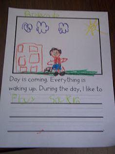 Wood's Kindergarten Class: Day and Night Graph 1st Grade Science, Kindergarten Science, Preschool Lessons, Science Classroom, Teaching Science, Classroom Activities, Classroom Projects, Kindergarten Classroom, Teaching Ideas