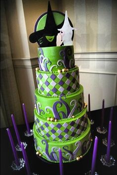Wicked cake {and it is quite wicked}
