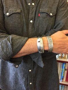 men's sterling cuff bracelets