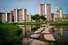Foot Bridge, Kallang River, Bishan-Ang Mo Kio Park, Singapore
