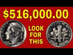 Extremely valuable dime to look for! New record price! Valuable Pennies, Rare Pennies, Valuable Coins, Ways To Save Money, How To Make Money, Old Coins Value, Old Coins Worth Money, Error Coins, Coin Worth