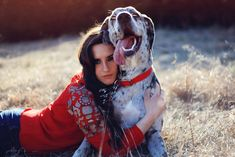 A girl and her Great Dane puppy. Photobox Studios Photography