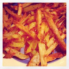 Tried out an Italian 'French Fry' recipe my friend Alycia pinned earlier :) delish!!