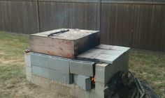 $600 smoker? (anyone use a cinder block smoker?) - Page 2 - The BBQ BRETHREN FORUMS.