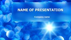 Sea Water Powerpoint Template  Powerpoint Templates