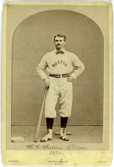 Ross Barnes 1874 Boston
