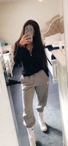 casual outfits for school ~ casual outfits . casual outfits for winter . casual outfits for women . casual outfits for work . casual outfits for school . Casual Winter Outfits, Cute Lazy Outfits, Winter Outfits For School, Casual School Outfits, Hijab Casual, Teenage Outfits, Cute Spring Outfits, Chill Outfits, Teen Fashion Outfits