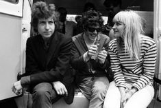 Bob Dylan, Donovan and Mary Travers