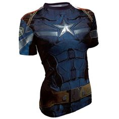 aea276c37 Captain America Sport fitness dryfit gym T shirt Unisex Streetwear Shorts
