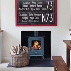 Henley Druid 5kw Defra Multifuel Wood Burning Stove