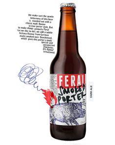 Feral Smoked Porter Bottle