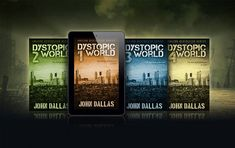 5 x 8 Dystopian Ebook Series Mockup - Covervault Free Mockup Templates, All I Ask, Ebook Cover, Photoshop Actions, Illusions, Author, Books, Writers, Train