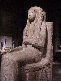 Seated Statue of Nehy Egypt New Kingdom 1250-1230 BCE