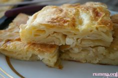 Hazır Yufkadan Değişik Börek tarifleri (18 ÇEŞİT) - rumma - rumma Turkish Recipes, Ethnic Recipes, Bread And Pastries, Apple Pie, Lasagna, Macaroni And Cheese, Food And Drink, Cooking, Desserts